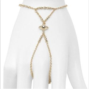 Kendra Scott Clair Hand Chain - Gold